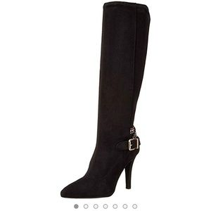 BCBG Dark brown suede boots